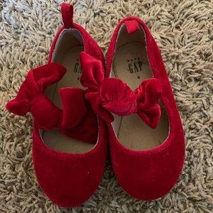 Red velvet shoes gap